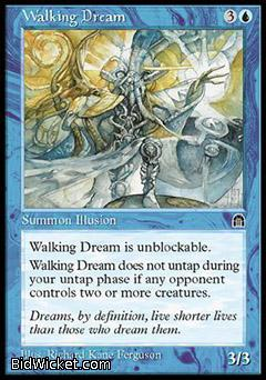 Walking Dream, Stronghold, Magic the Gathering