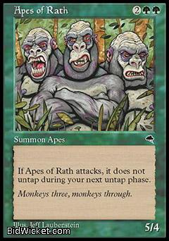 Apes of Rath, Tempest, Magic the Gathering