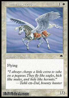 Armored Pegasus, Tempest, Magic the Gathering