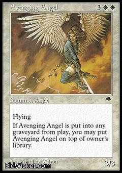 Avenging Angel, Tempest, Magic the Gathering