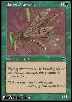 Bayou Dragonfly, Tempest, Magic the Gathering
