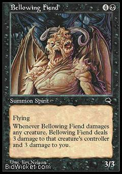 Bellowing Fiend, Tempest, Magic the Gathering