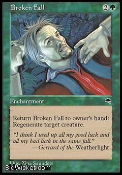 Broken Fall, Tempest, Magic the Gathering