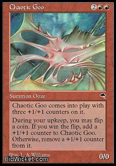 Chaotic Goo, Tempest, Magic the Gathering