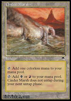 Cinder Marsh, Tempest, Magic the Gathering