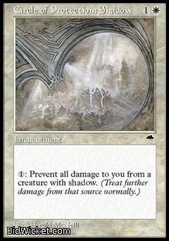 Circle of Protection: Shadow, Tempest, Magic the Gathering
