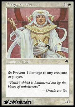 Clergy en-Vec, Tempest, Magic the Gathering