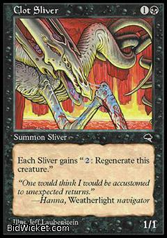 Clot Sliver, Tempest, Magic the Gathering