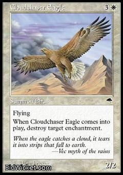 Cloudchaser Eagle, Tempest, Magic the Gathering