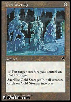 Cold Storage, Tempest, Magic the Gathering