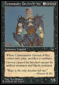 Commander Greven il-Vec, Tempest, Magic the Gathering