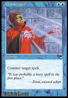 Counterspell, Tempest, Magic the Gathering