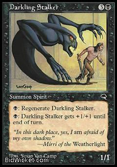 Darkling Stalker, Tempest, Magic the Gathering