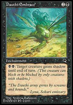 Dauthi Embrace, Tempest, Magic the Gathering