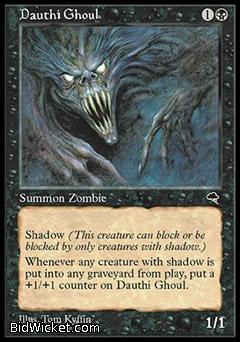 Dauthi Ghoul, Tempest, Magic the Gathering