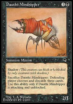 Dauthi Mindripper, Tempest, Magic the Gathering