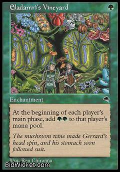 Eladamri's Vineyard, Tempest, Magic the Gathering