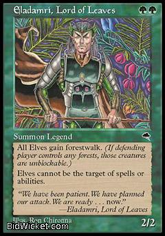Eladamri, Lord of Leaves, Tempest, Magic the Gathering