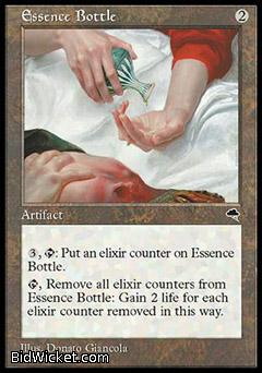 Essence Bottle, Tempest, Magic the Gathering