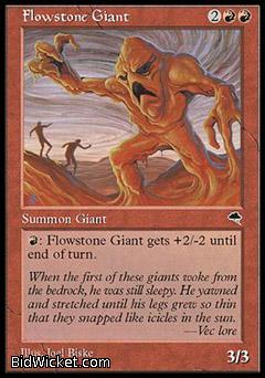 Flowstone Giant, Tempest, Magic the Gathering