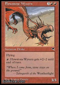 Flowstone Wyvern, Tempest, Magic the Gathering