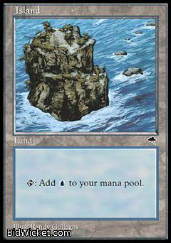 Island, Tempest, Magic the Gathering