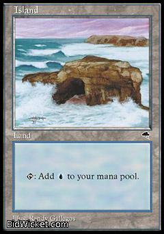 Island B, Tempest, Magic the Gathering