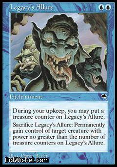 Legacy's Allure, Tempest, Magic the Gathering
