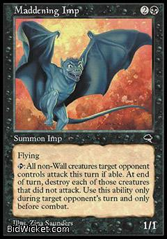 Maddening Imp, Tempest, Magic the Gathering