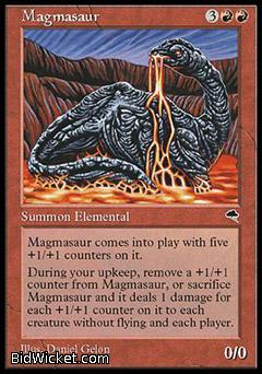 Magmasaur, Tempest, Magic the Gathering