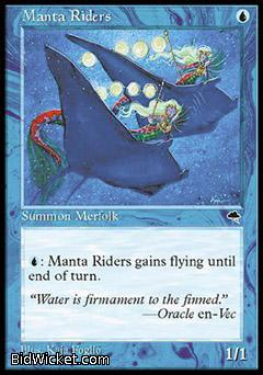 Manta Riders, Tempest, Magic the Gathering