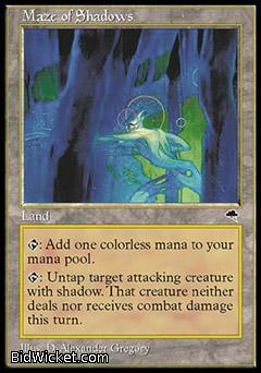 Maze of Shadows, Tempest, Magic the Gathering