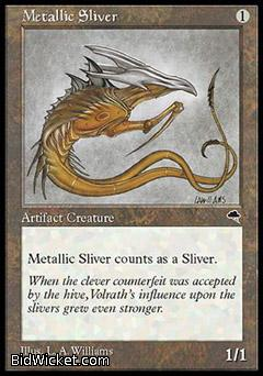 Metallic Sliver, Tempest, Magic the Gathering