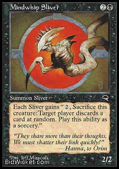 Mindwhip Sliver, Tempest, Magic the Gathering