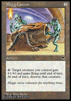 Mogg Cannon, Tempest, Magic the Gathering