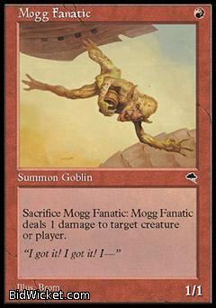 Mogg Fanatic, Tempest, Magic the Gathering