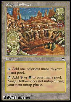 Mogg Hollows, Tempest, Magic the Gathering