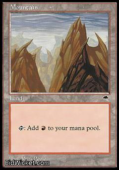 Mountain, Tempest, Magic the Gathering