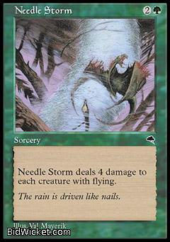 Needle Storm, Tempest, Magic the Gathering