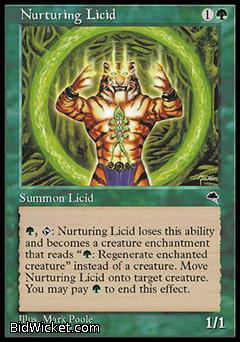 Nurturing Licid, Tempest, Magic the Gathering