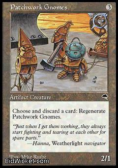 Patchwork Gnomes, Tempest, Magic the Gathering