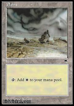 Plains, Tempest, Magic the Gathering