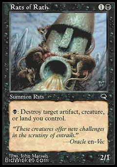 Rats of Rath, Tempest, Magic the Gathering