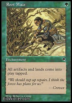 Root Maze, Tempest, Magic the Gathering