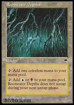 Rootwater Depths, Tempest, Magic the Gathering