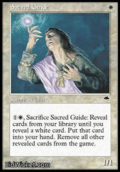 Sacred Guide, Tempest, Magic the Gathering