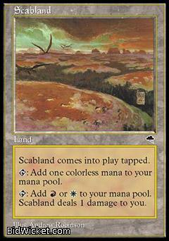 Scabland, Tempest, Magic the Gathering