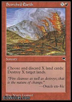 Scorched Earth, Tempest, Magic the Gathering