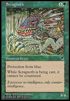 Scragnoth, Tempest, Magic the Gathering