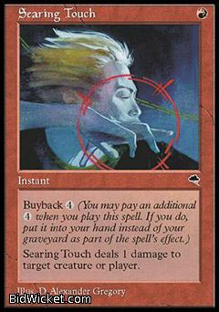 Searing Touch, Tempest, Magic the Gathering